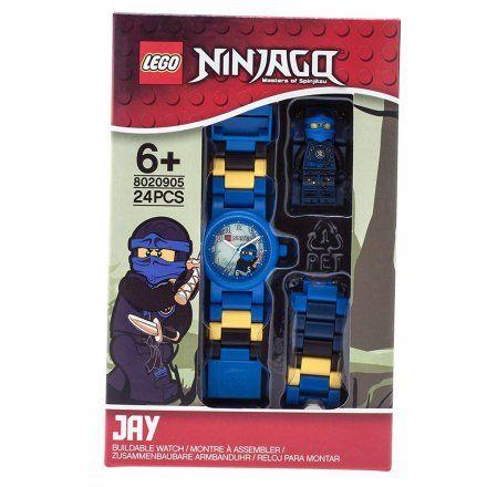 8020905 Zegarek LEGO NINJAGO Jay Minifigurka