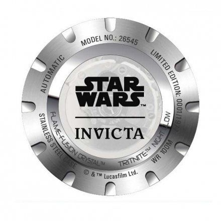 Invicta IN26545 Zegarek męski Invicta Star Wars 26545