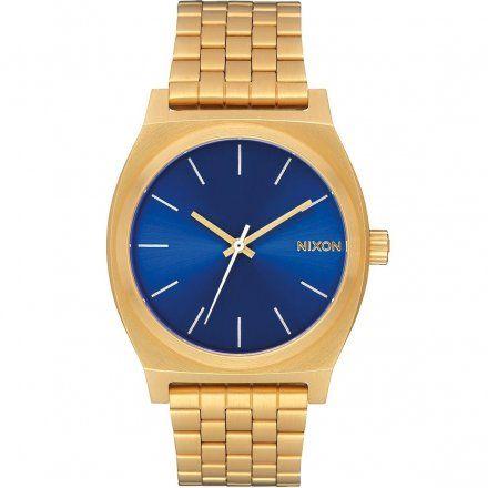 Zegarek Nixon Time Teller Blue Gold - Nixon A0452735