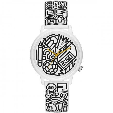Zegarek Męski Guess V0023M9 Time To Give
