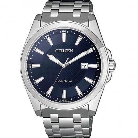 Citizen BM7108-81L Zegarek Męski na bransolecie Eco Drive Elegance