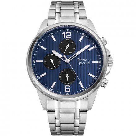 Pierre Ricaud P60025.5155QF Zegarek - Niemiecka Jakość