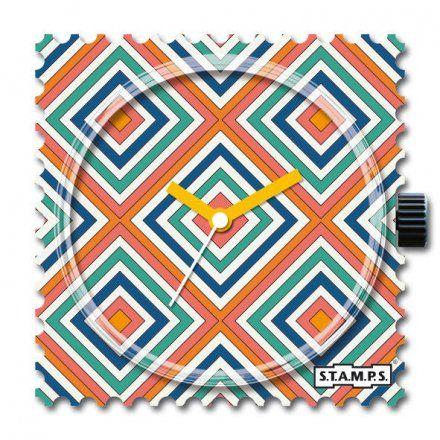 Zegarek S.T.A.M.P.S. Orange Rhombus 105392