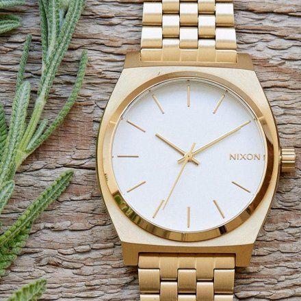 Zegarek Nixon Time Teller Gold - Nixon A0451508