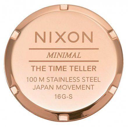 Zegarek Nixon Time Teller Rose Gold Nixon A0453005