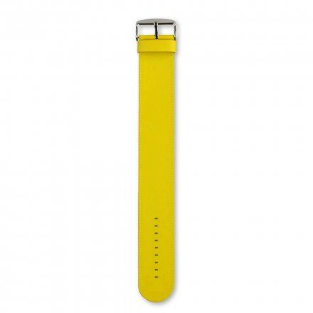 Pasek S.T.A.M.P.S. Classic Leather Yellow Pantone 100003 1001