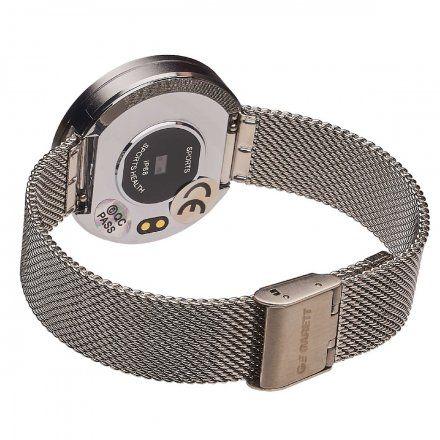 Smartwatch Garett Women Lea srebrny stalowy