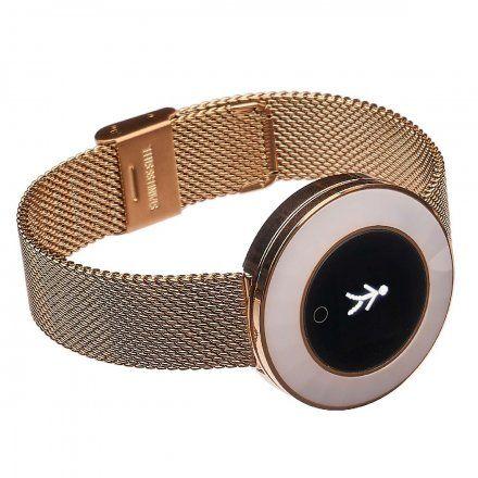 Smartwatch Garett Women Lea złoty stalowy