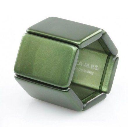 Bransoleta S.T.A.M.P.S. Belta Metallic Green 102232 3000