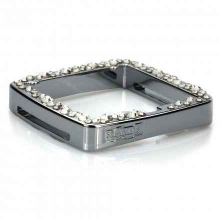Ramka S.T.A.M.P.S. Full Metal Jack Diamond Silver 102294 4200