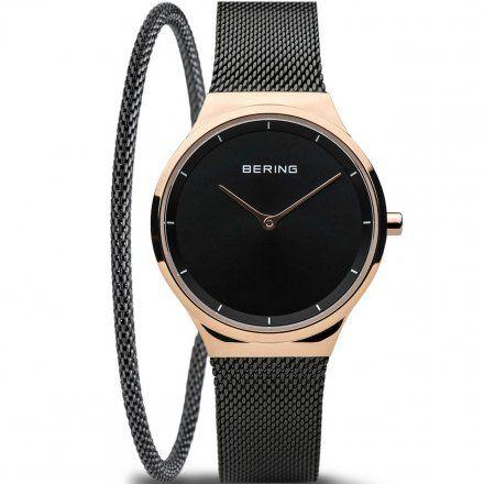 Bering 12131-162 Zegarek Bering Classic + Bransoletka czarna