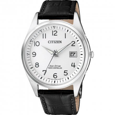 Citizen AS2050-10A Zegarek Męski na pasku Eco Drive Radiocontrol