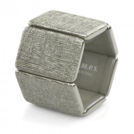 Bransoleta S.T.A.M.P.S. Belta Structure Silver 103805 4200