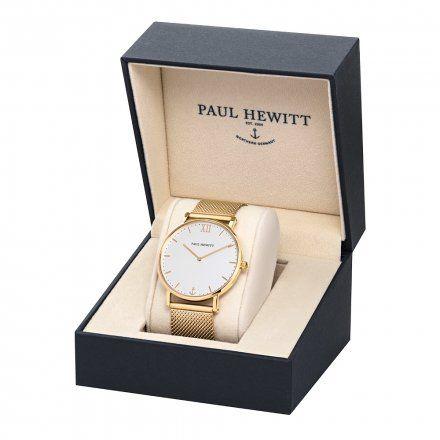 Zegarek Paul Hewitt Sailor Line Gold PH-SA-G-ST-W-4S