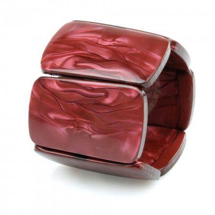 Bransoleta S.T.A.M.P.S. Belta Shape Shadow Red 104888 1703