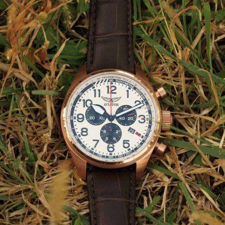 Zegarek Męski Aviator V.2.25.2.173.4 Airacobra P45 Chrono