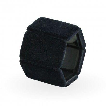 Bransoleta S.T.A.M.P.S. Belta Velvet Black 105310 0100