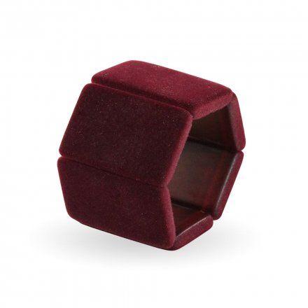 Bransoleta S.T.A.M.P.S. Belta Velvet Bordeaux 105310 2150