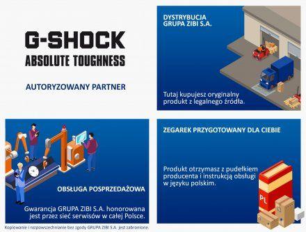 Zegarek Casio GBD-800UC-5ER G-Shock G-SQUAD GBD 800UC 5