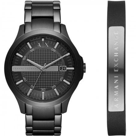 AX7101 Armani Exchange HAMPTON zegarek i bransoletka AX