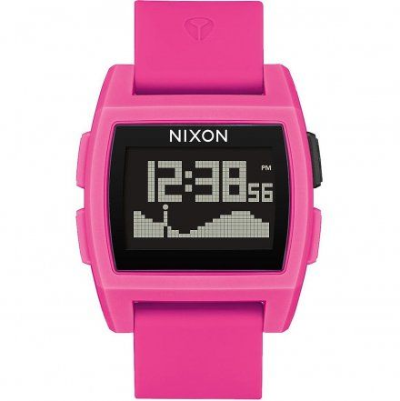 Zegarek Nixon BASE TIDE PUNK PINK RESIN - Nixon A11042688