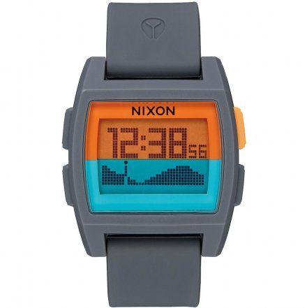 Zegarek Nixon BASE TIDE GRAY/ORANGE/TEAL - Nixon A11042818
