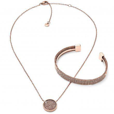 Biżuteria Skagen - SKJB1000791 - Komplet naszyjnik + bransoletka