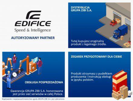 Zegarek Męski Casio ECB-900DB-1AER Edifice Premium
