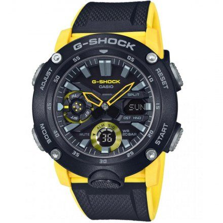 Zegarek Casio GA-2000-1A9ER G-Shock GA 2000 1A9