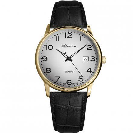 Zegarek Męski Adriatica A8242.1227Q - Zegarek Kwarcowy Swiss Made