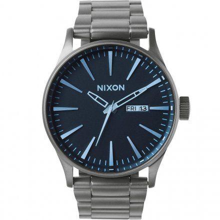 Zegarek Nixon Sentry Ss GUNMETAL/BLUE CRYSTAL- Nixon A3561427