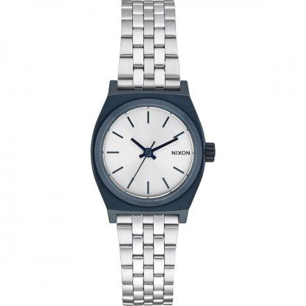 Zegarek Nixon Small Time Teller NAVY/SILVER - Nixon A3991849