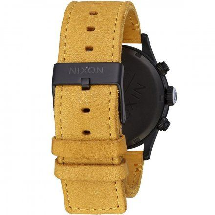 Zegarek Nixon Sentry Chrono ALL BLACK/GOLDENROD A4052448
