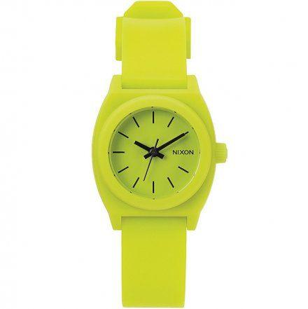 Zegarek Nixon Small Time Teller P LIME SPORT A4251536