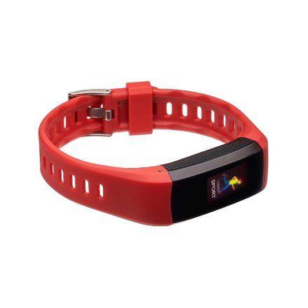 Smartband, Opaska Sportowa Garett Fit 26 GPS czerwony