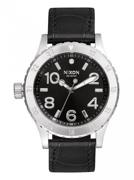 Zegarek Nixon 38-20 LEATHER BLACK GATOR A4671886