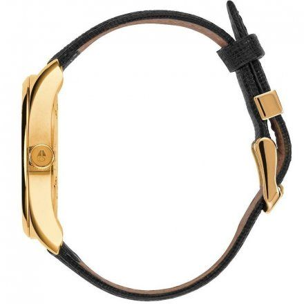 Zegarek Nixon BULLET LEATHER GOLD/BLACK A4731513