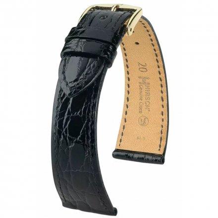 Pasek Skórzany HIRSCH Certified Croco 18900850-1-18 - z Krokodyla