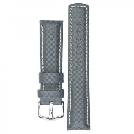 Pasek Skórzany HIRSCH Carbon 18749230-2 18mm