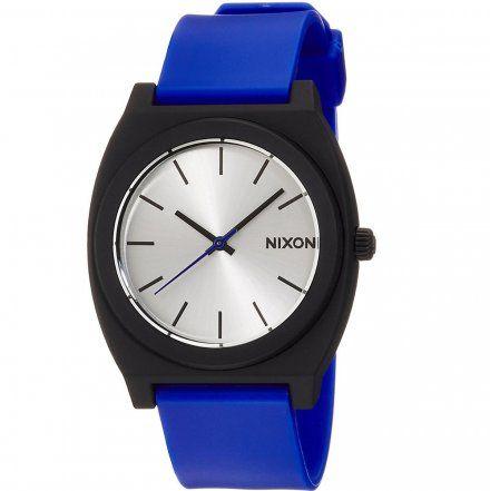 Zegarek Nixon Time Teller P Black Blue - Nixon A1191018