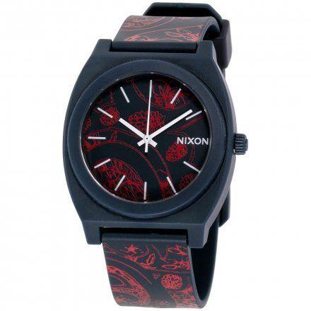 Zegarek Nixon Time Teller Navy Paisley  - Nixon A1191984