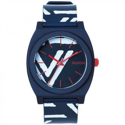 Zegarek Nixon Time Teller P Navy Coral - Nixon A119684
