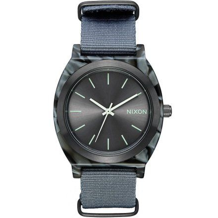 Zegarek Nixon Time Teller Acetate Gray Gunmetal - Nixon A3272635