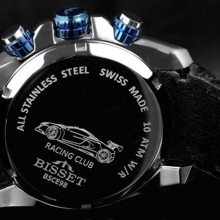 Bisset BSCE98SIDX10AX Zegarek Szwajcarski Marki Bisset