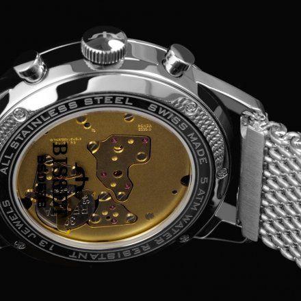 Bisset BSDE88TIGX05AX Zegarek Szwajcarski Marki Bisset