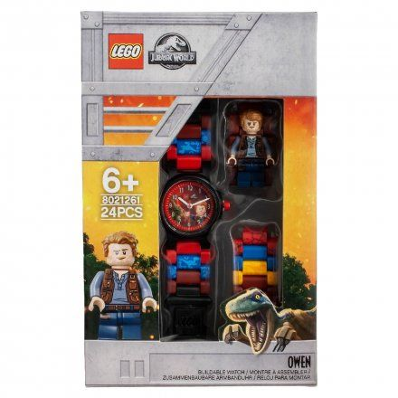 8021261 Zegarek LEGO JURASSIC WORLD Owen
