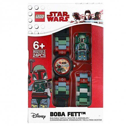 8021513 Zegarek LEGO STAR WARS BOBA FETT