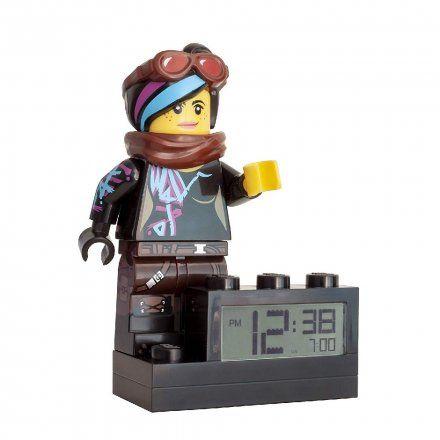 9003974 Budzik LEGO MOVIE 2 WYLDSTYLE KLOCEK