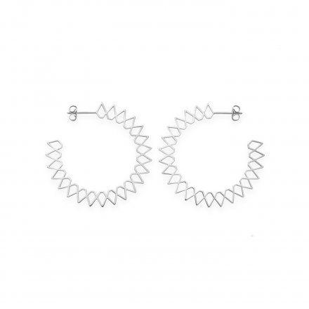 Kolczyki Rosefield Iggy JSPHS-J064 modna biżuteria Rosefield
