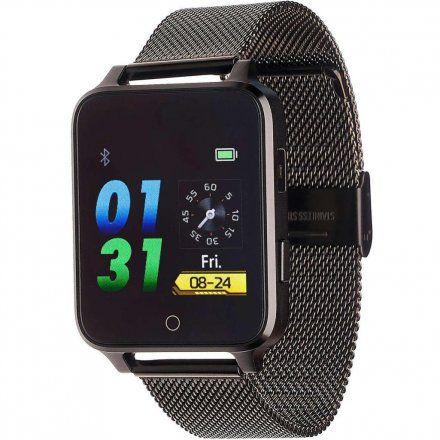 Smartwatch Garett Sport 26 czarny stalowy